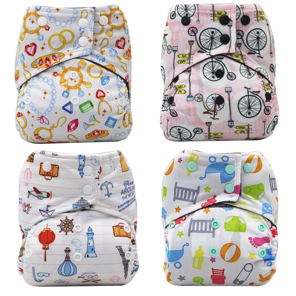 children cloth diaper one size fits all one size fits all pocket nappies washable diaper ...