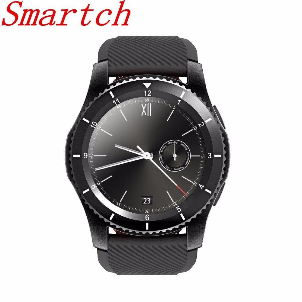 Smartch G8 Smartwatch Bluetooth 4.0 SMS rappel montre intelligente moniteur de fréquence cardiaque Pedomter pour Android IOS Smartphone bon comme KW88