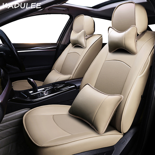 Kadulee Real Leather Car Seat Cover For Maserati Quattroporte Automobiles Covers Seats Protector