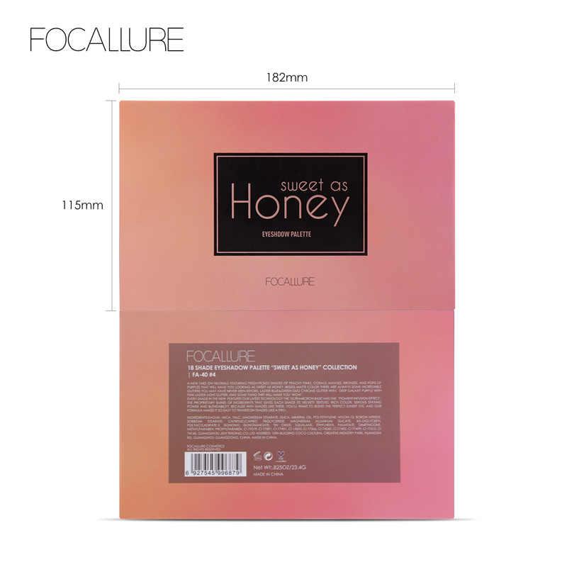 FOCALLURE 甘い蜂蜜アイシャドウパレットとしてプロ着やすいリッターアイシャドーパレット高品質マット影