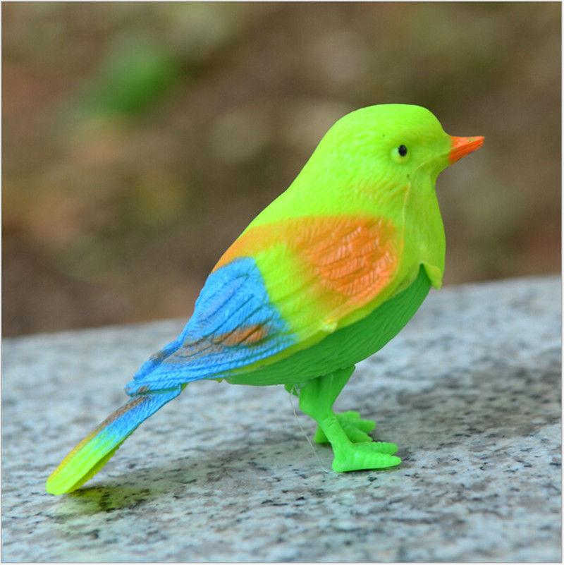Игрушки-приколы игрушка Цвет ful звук голоса Управление активировать щебетуны пение птиц смешная игрушка подарок Разные цвета