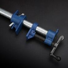 Braçadeira de tubulação de cola de madeira, ferro fundido, liberação rápida, 1/2 3/4, conjunto de clipe, ferramenta para trabalhar madeira jdi99