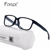 FONEX High Quality TR90 Square Sports Glasses Frames Men Prescription Woman Outdoor Eyeglasses Myopia Optical Frame