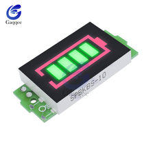 6S Series Lithium Battery Capacity Indicator Module 25.2V Green Display Electric Vehicle Battery Power Tester Li-po Li-ion(China)