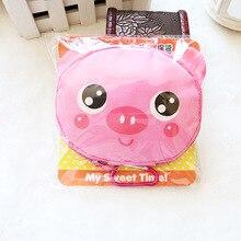 Мультфильм животных складной сумка многоразовые эко сумка панда лягушка свинья медведь водонепроницаемый сумка бесплатная доставка