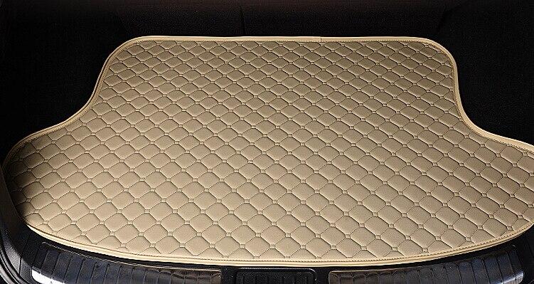 Car Styling Car Trunk Mats for Nissan QASHQAI Trunk Liner Carpet Floor Mats Tray Cargo Liner Waterproof 4 Colors Optional