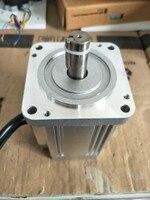 High Voltage Nema31 Brushless DC Motor 310VDC 550W 1500rpm Square Flange 80 mm