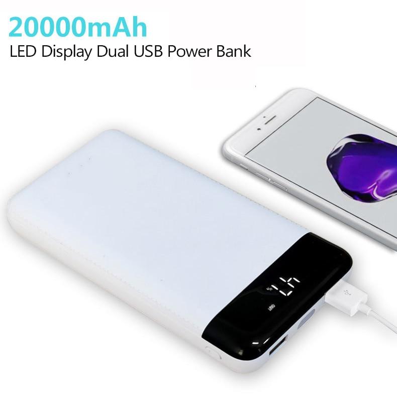 Universal 20000mAh Portable Phone Power Bank