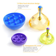 Cat Dog Feeder Toys Interactive Balls Leakage Toys Feeder for Dogs Cats Puzzle Shaking Food Toy Chewing Pet Accessories