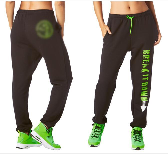 Femme pantalon de danse De Danse It Out SweatpantsParty Dans Da Sous-Sol pantalons de Survêtement pantalon femmes bas noir Trainning & Exercice Pantalon