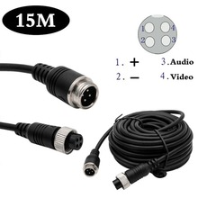 Reversing font b Camera b font 15M TRRS Jack Connector To 4 Pin Video Extension Cable