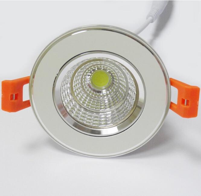 Бесплатная доставка светодиодный светильник затемнения 9 Вт 12 Вт 15 Вт вел вниз свет для домашнего освещения AC85-265V встраиваемый потолок ламп...