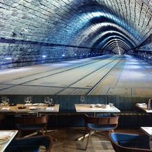 3D Wallpaper  Stereo Expansion Space Tunnel