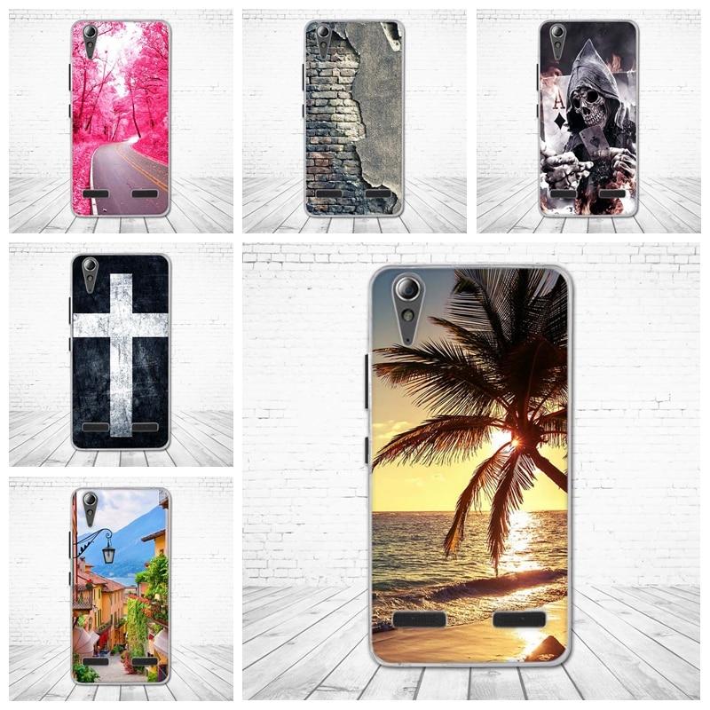 Soft Silicon Case Printed Phone Back Cover for Lenovo A6010 & A6000 & for Lenovo Lemon K3 K30-T Cover Skin 5