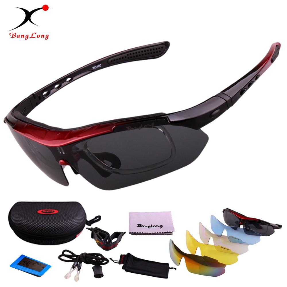 BANGLONG Oculos Ciclismo Cycling Tactical Glasses Men Women Gafas Ciclismo Bicycle Bike Sports Cycling Glasses