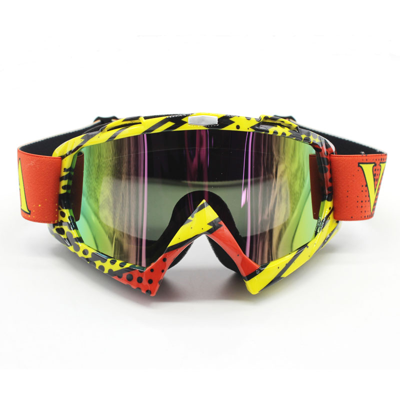 NEW Motorcycle Motocross Goggles Glasses for Helmet Racing Gafas Dirt Bike ATV MX Goggles Off Road Adjustable
