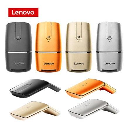 Lenovo souris de Yoga sans fil souris de jeu souris pliable bluetooth pour ordinateur MAC PC souris de jeu pour ordinateur portable logitech Windows7 8 10
