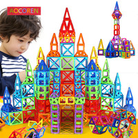 72pcs Magnetic Designer Creator Magformers 3D DIY Building Blocks Bricks Educational Magnetic Juguetes Toys Children Toys