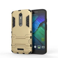 For Motorola Moto X Force Case XT1585 XT1581 Slim Shockproof Robot Armor Hybrid Rubber Hard Cover