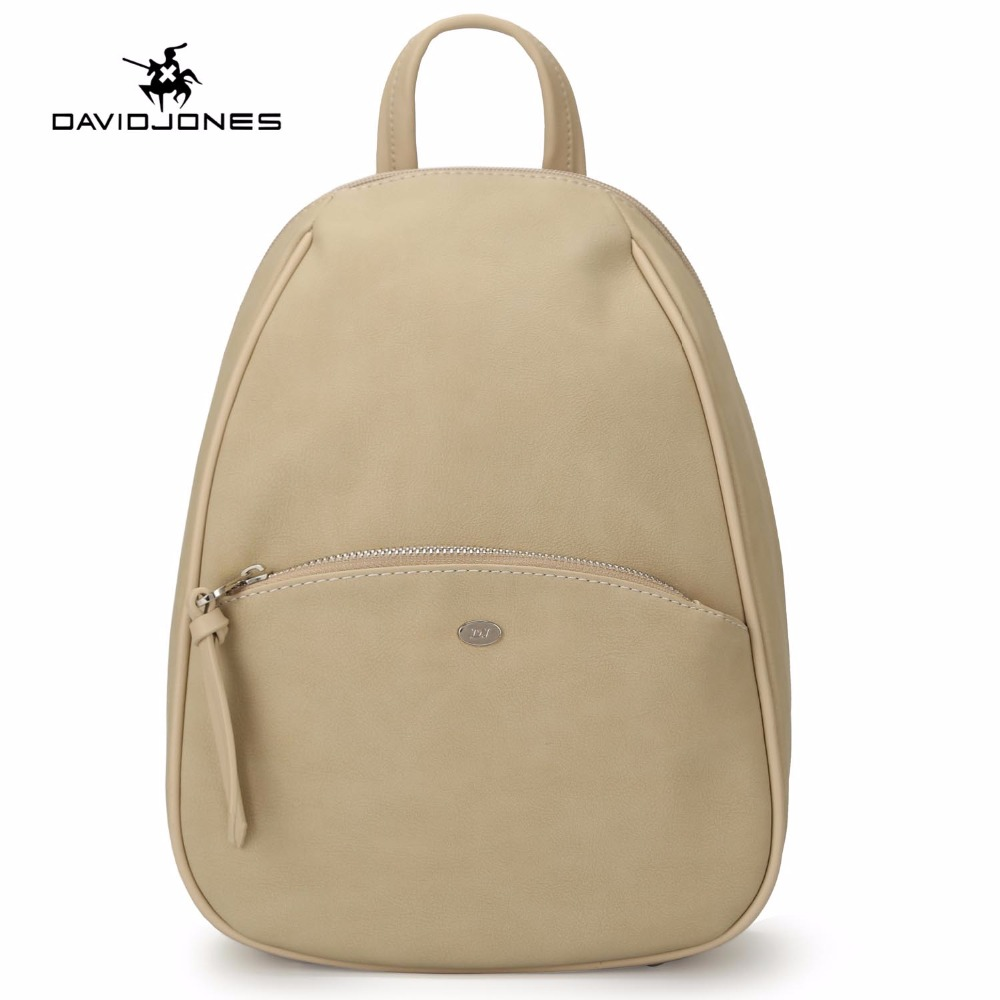 DAVIDJONES Fashion New Women School Bag Girl Backpacks 2018 PU Leather Shoulder Bags Casual Feminina Mochila Soft Versatile Bags doodoo fashion streaks women casual bear backpacks pu leather school bag for girl travel bags mochilas feminina d532