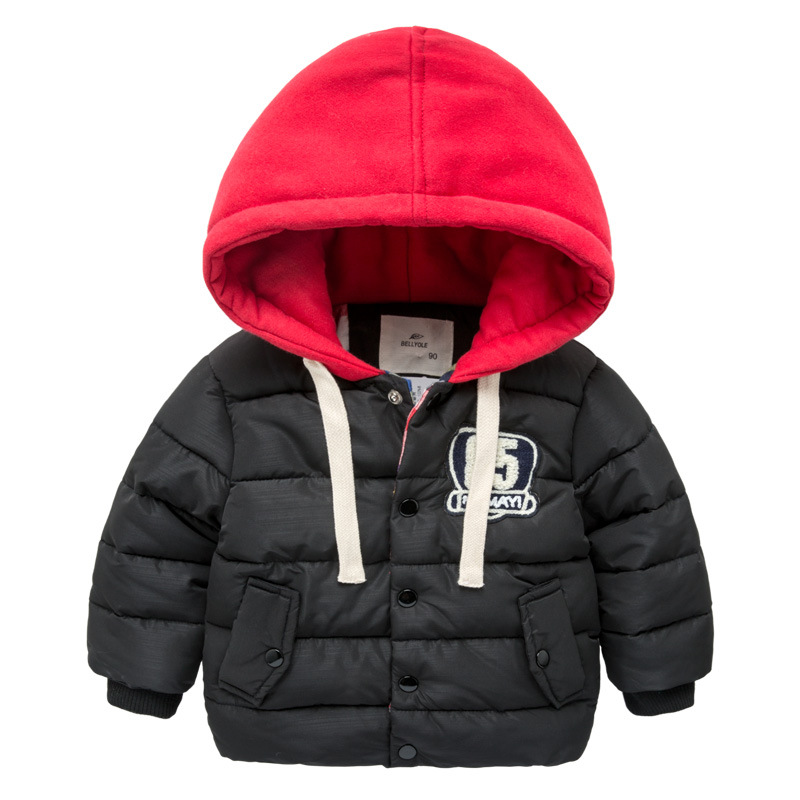 2017 New Brand Children Clothing Outerwear Boys Thick Parka Winter Warm Hooded Cotton-padded Clothes Fashion Kids Topcoat/jacket new men winter jacket fashion brand clothing cotton padded down parka male thick warm comfortable outerwear coat hood detachable