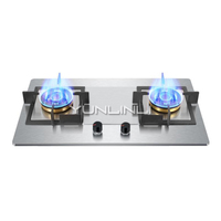 5KW Embedded Gas Stoves Stainless Steel Gas Cooker High grade Cooktop JZT GZ451|Cooktops| |  -