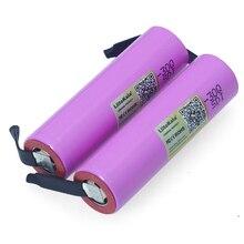 Liitokala batería recargable de li lon, 3,7 v, ICR18650 30Q, 3000mAh, 30q, para ordenador portátil + de níquel de DIY