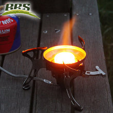 brs portable windproof camp stove big power outdoor gas stove cooking picnic butane camping gas stove gas cheap burner