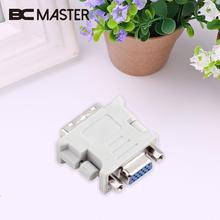 BCMaster DVI Male 24 5 Pin to VGA Female Converter Adapter Audio Video Cables For DVD