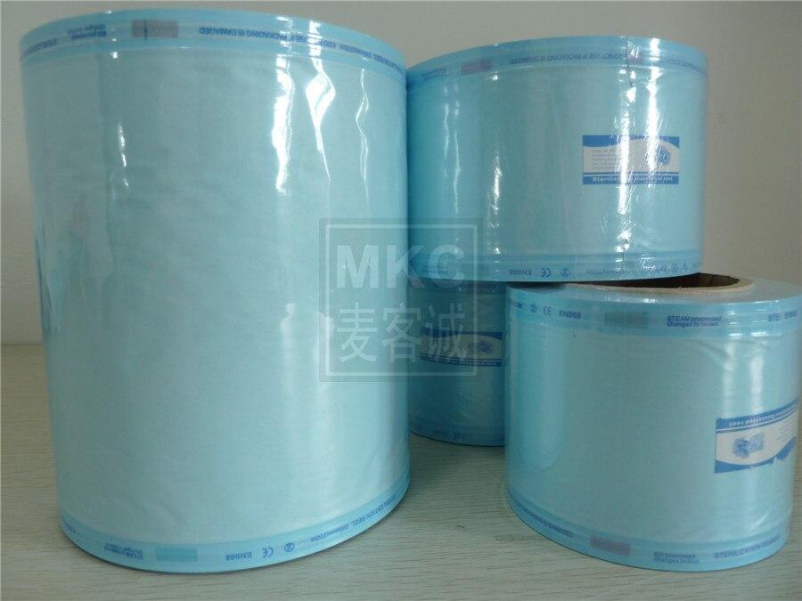 где купить 7.5cm * 200m Blue Top Quality Sterilization Bag Sterilization Dialysis Disinfection of Dental Sealer Bag по лучшей цене