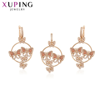 Xuping Exquisite Lovely Special Gift Jewelry Sets With Butterfly Shape for Women Girls Nice Graduation Gifts S194.7 64445