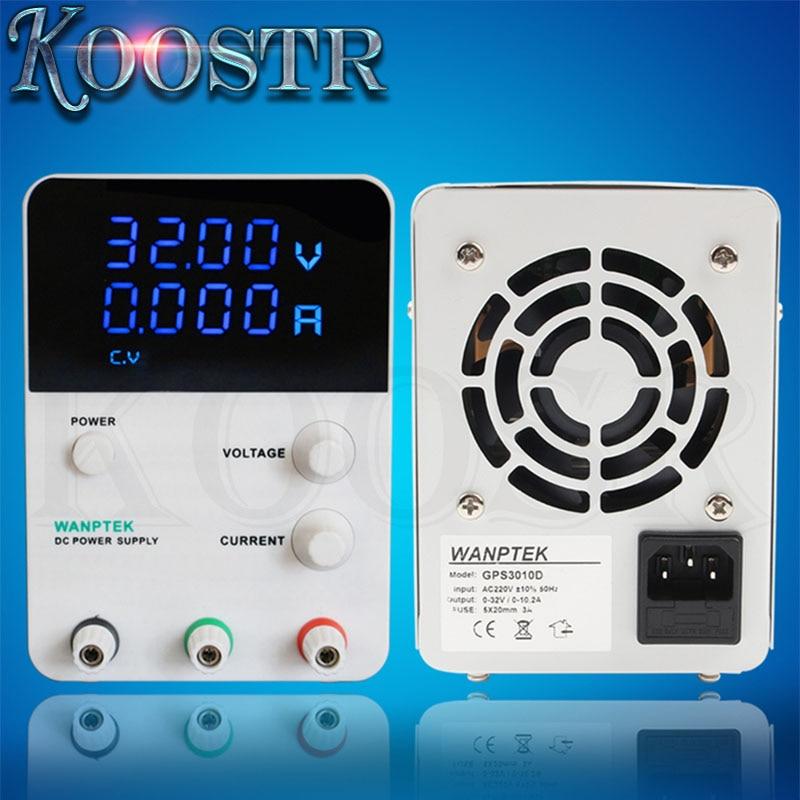 Hot Sale GPS3010D 30V 10A Voltage Regulator Mini Adjustable Digital DC Power Supply Single Channel 220V