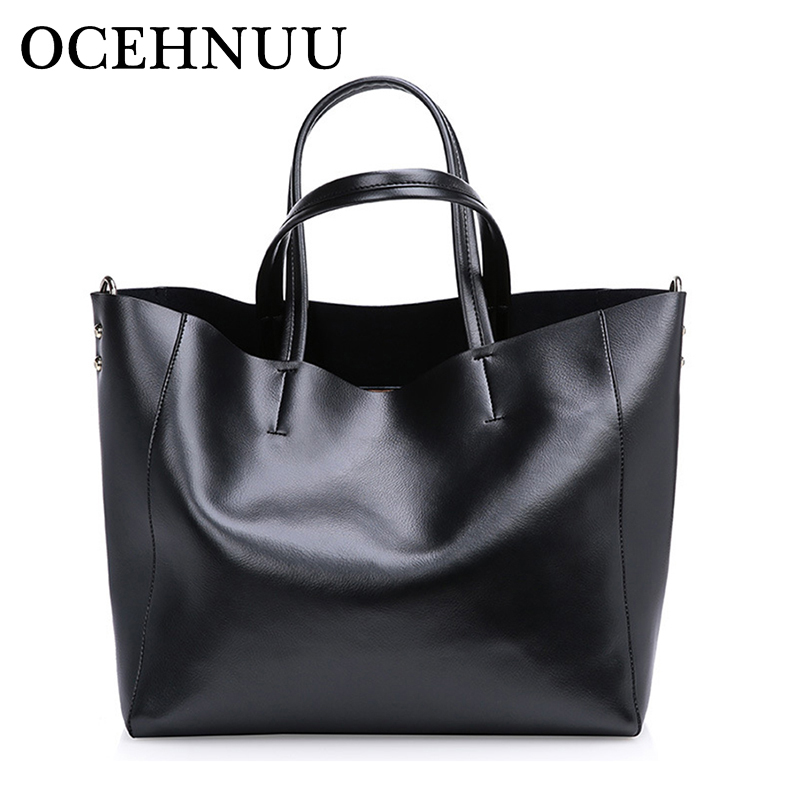 OCEHNUU Soft Genuine Leather Women Bag Set Luxury Brand 2018 Designer Bolsa Feminina De Ombro Women'S Shoulder Bags With Zipper трусы springfield springfield sp014emvgd46