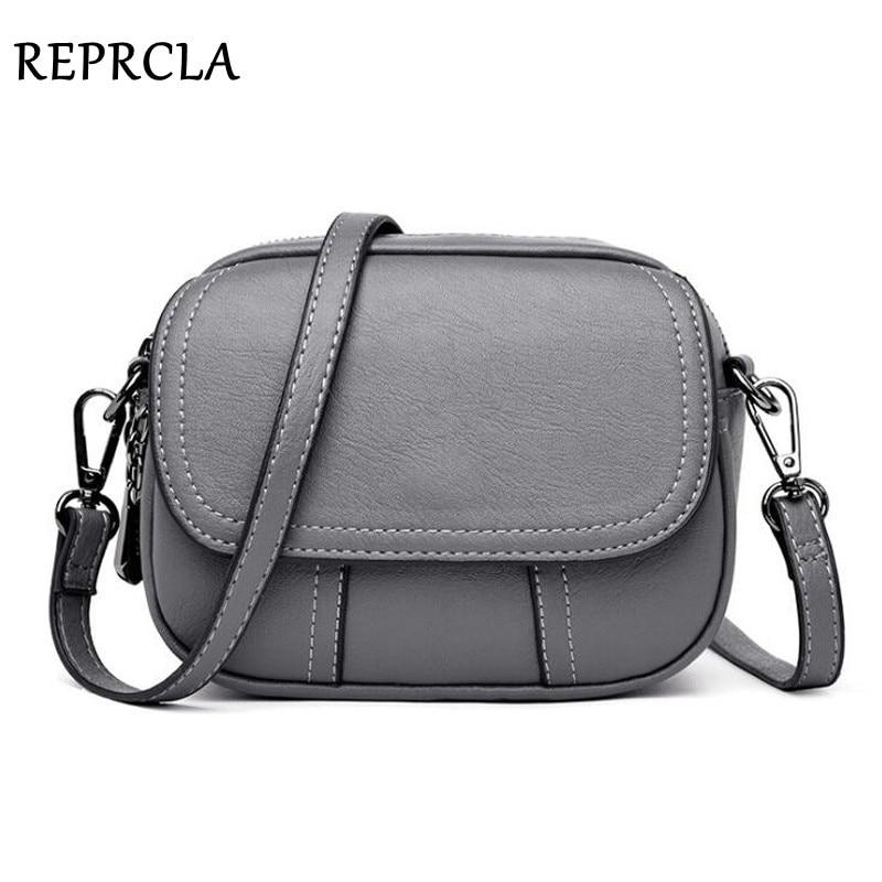 REPRCLA Women Shoulder Bag Fashion High Quality Crossbody Messenger Bags Designer PU Leather Handbag Female Bag Bolsa Feminina