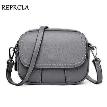 4a8dfef53 REPRCLA bolso de hombro de mujer de moda de alta calidad bolsos bandolera de  diseñador de cuero de PU bolso de mujer Bolsa femenina
