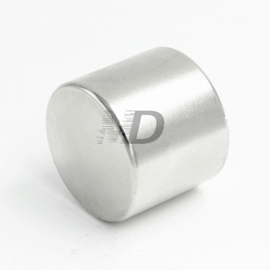 1 unids neodimio N35 dia 30mm x 30mm imanes fuertes disco minúsculo NdFeB tierra rara para modelos de artesanías refrigerador que se pega el envío libre