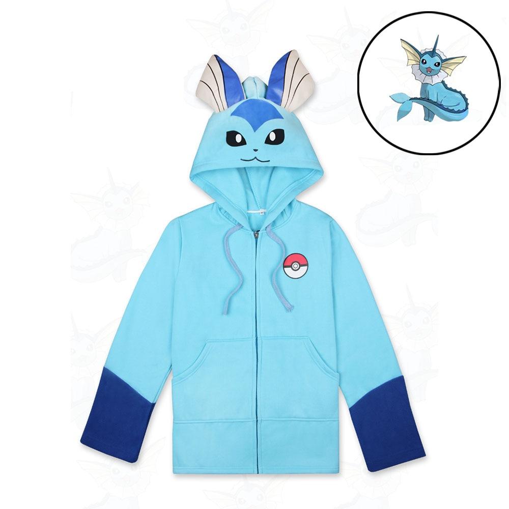 Wotogold Women Hooded Cotton Anime Cartoon Men Hoodies Sweatshirts With Ears Cute Long Sleeve Boys Hoodies Tracksuits Jacket