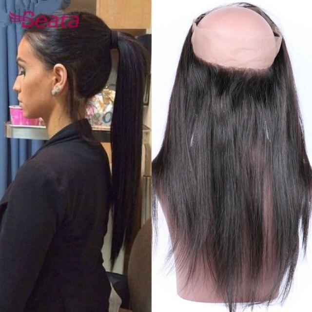 New 360 Lace Frontal Closure 8a Grade Brazilian Virgin Hair Straight