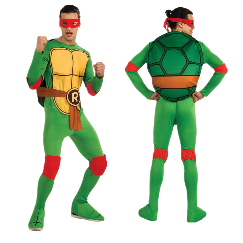 Teenage Mutant Ninja Turtle Adult Costume Cosplay Anime Game Movie Performance Costume Super Super Hero Halloween Dress Up Party