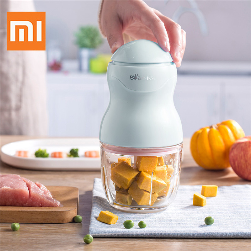 Xiaomi Bear Baby Food Supplementary Machine Multi function Portable Mini Meat Grinder Baby Blende Food Machine Baby Food Mills