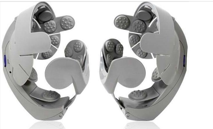 Cerveau Masseur De Tête Buru-Buru Casque Tête Massageador de relaxation Du Cuir Chevelu secouant vibrations Acupuncture Électrique Stimulateur Du Nerf