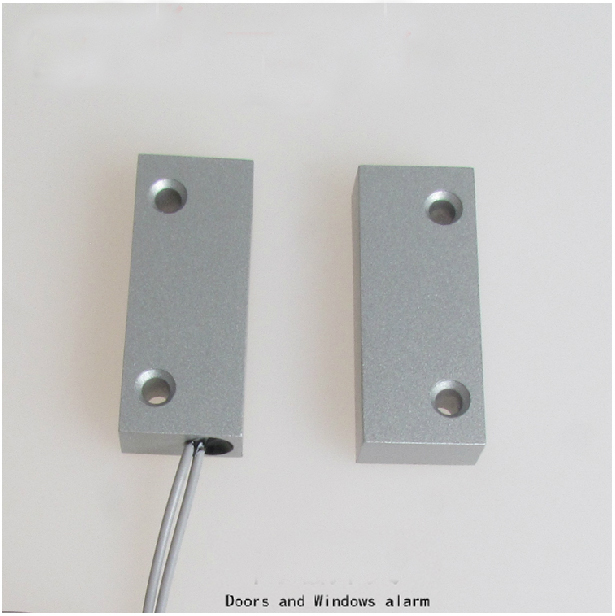 Free shipping Door Sensor Wired Cable Window Door Contact Magnetic Switch Alarm 1  pair thyssen parts leveling sensor yg 39g1k door zone switch leveling photoelectric sensors