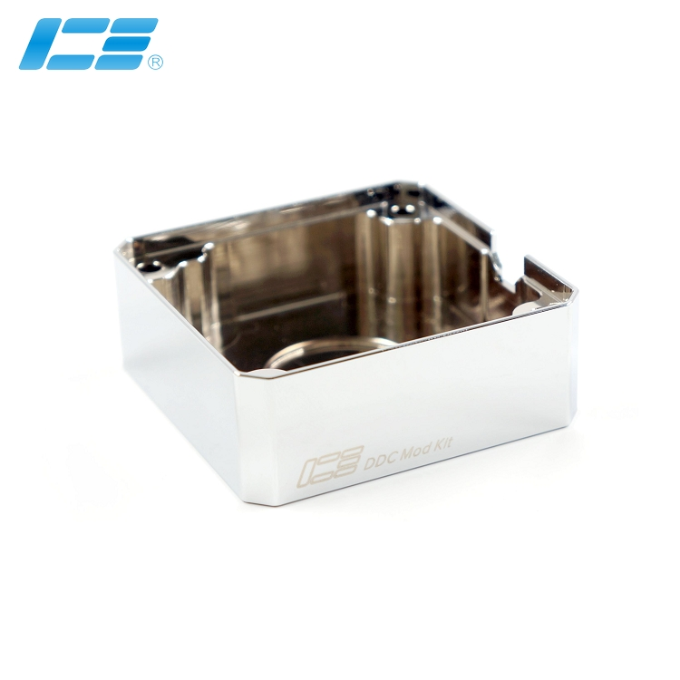 Bright silver IceMan Cooler water cooling Import DDC pump armor pure copper electroplating Seller High recommend