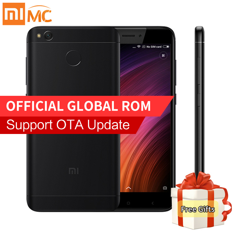 Original Xiaomi Redmi 4X 2GB 16GB Smartphone Snapdragon 435 Octa Core 5 0 HD Display 13MP