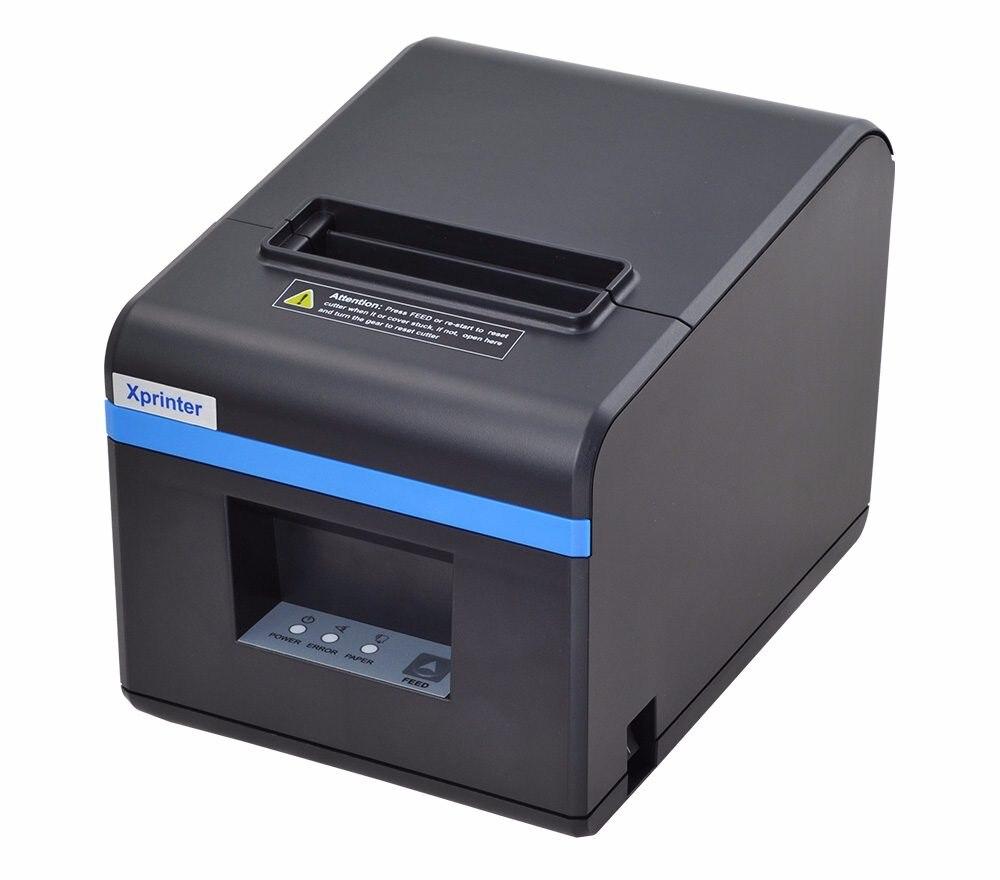 Новое поступление 80 мм авто резак чековый принтер pos Priner USB порт или Ethernet порт