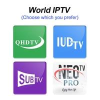 Android Smart TV Box 4K QHDTV Code SUBTV Neotv Pro Portugal España Italia Spain France Nederlands 1Year IPTV Subscription M3U TV