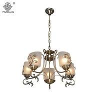 New Europe Style Pendant Lamp For Bedroom Living Room Retro Lights 6 8 Heads Home Lighting
