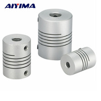AIYIMA 3pcs D25 L30 Flexible Aluminum Alloy CNC Gear Motor Shaft Coupler For CNC Machine Tools