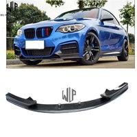 For BMW 2 series f22 retrofit car body kit the BMW F22 M235i carbon fiber MP style front lip carbon fiber front shovel 2014 UP
