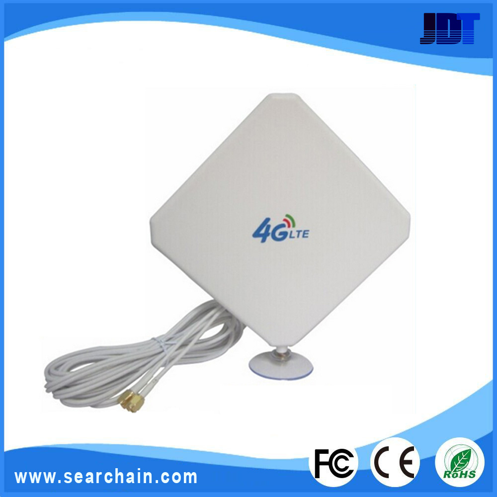 Booster mimo white external directional 35dbi 4g antenna for Antena exterior 4g
